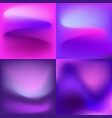 ultra violet abstract backgrounds vector image vector image