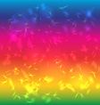 Abstract background bright saturated Rainbow Glare vector image