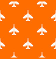 armed fighter jet pattern seamless vector image vector image