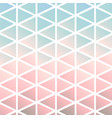chalky pastel mod triangles composition vector image vector image