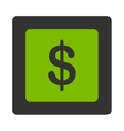 Finance Icon from Commerce Buttons OverColor Set vector image vector image