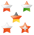 flags star vector image vector image