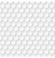 geometric circle seamless pattern vector image vector image