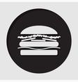 information icon - hamburger vector image vector image
