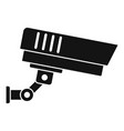 outdoor security icon simple style vector image