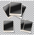 Photo frame set vector image vector image
