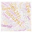 Benefits Of Alternative Medicine text background vector image vector image