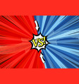 comic duel concept vector image vector image