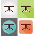 furniture flat icons 16 vector image vector image