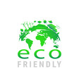 green earth concept design earth planet health vector image