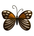 Spotted butterfly icon cartoon style vector image vector image