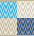 wave on different colored background vector image