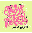 Kisses day lettering inspiration poster