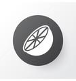 orange icon symbol premium quality isolated vector image