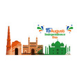 poster india architecture and taj mahal