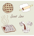 Sweet baking vector image vector image