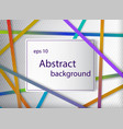 abstract background with lines in dark gradient vector image vector image