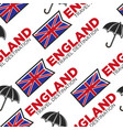 england travel destination seamless pattern vector image