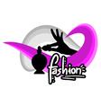 Fashion symbol vector image vector image
