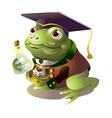 icon frog vector image vector image