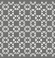 tile polka dots grey pattern for wallpaper vector image vector image