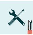 Tools icon isolated vector image vector image