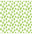 nature green leaf seamless pattern vector image