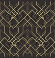 abstract art deco pattern01 vector image vector image