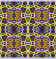 abstract geometric repeating seamless pattern vector image vector image