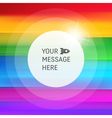 Abstract Rainbow Background Colorful Pattern vector image