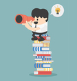 Benefits of Reading vector image