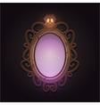 Creepy Mirror vector image vector image
