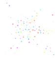festive confetti celebration stars colorful star vector image vector image