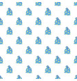 magic star bag pattern seamless vector image