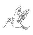song bird 9 vector image vector image
