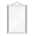 Mirror on the wall vector image