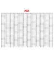2021 calendar business planner print template