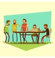 Coworking And People vector image vector image