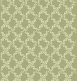 floral geometric pattern retro oriental flourish vector image vector image