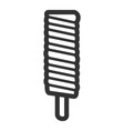 isolated popsicle icon vector image vector image