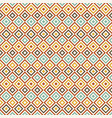 retro seamless pattern abstract geometric vector image vector image