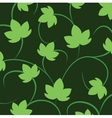 blackground with leaves of grapes vector image