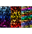 Mix of plasma banners vector image vector image