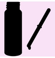 pipette with drop bottle vector image