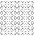 seamless pattern black elliptic figures on white vector image vector image