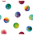 Seamless pattern Watercolor abstract vector image vector image