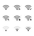 wifi network vector image vector image