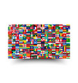 all national flags world background style
