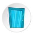 Door of elevator icon cartoon style vector image vector image
