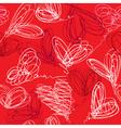 hearts handdrawn seamless 380 vector image